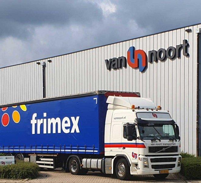 Zeiltrailer Vrachtwagenreclame Volvo Truck