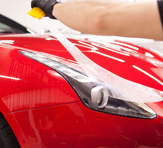 Paint Protection Film Ferrari